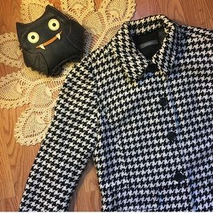 🖤Houndstooth Swing Jacket🖤